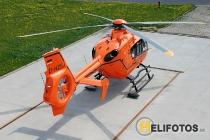 D-HZSJ als Christoph 34 am Luftrettungszentrum in Güstrow