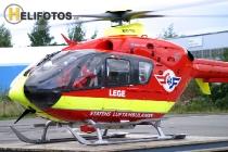 LN-OOB als Leege Helicopter in Trondheim